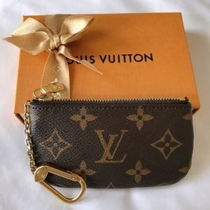 Authentic Louis Vuitton Monogram Key Pouch Special